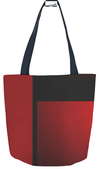 Kaolin Pottery tote textiles,fabric,clothing, tops,red&black,pillows,handbags,