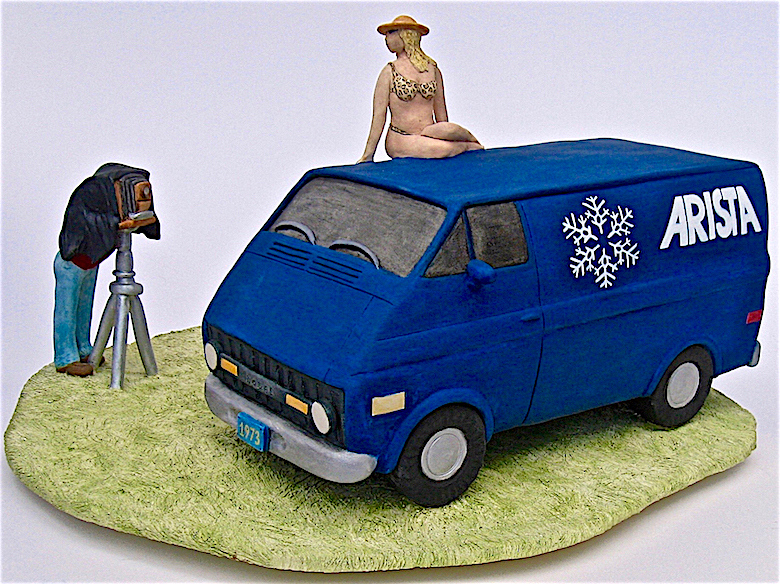 Kaolin Pottery Gt. Barrington, MA ceramic gallery van,photographer,bikini,sexy g